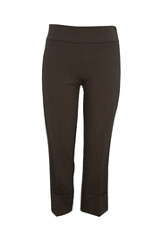 Up! Black Cuff Compression Ankle Pant - Front cropped