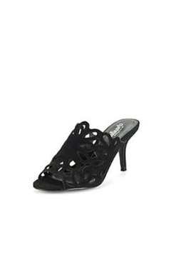 Charles By Charles David Black Cutout Heel - Product List Image