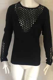 RD Style Black Cutout Sweater - Product Mini Image