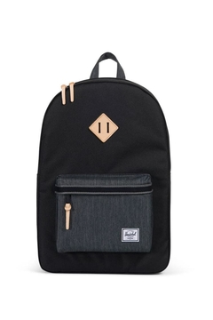 Herschel Supply Co. Black/denim Heritage Backpack - Product List Image
