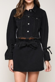 Mustard Seed Black Denim Jacket - Product Mini Image
