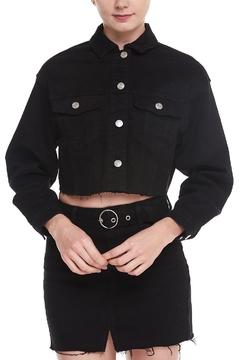 Shoptiques Product: Black Denim Jacket
