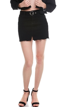 Shoptiques Product: Black Denim Skirt