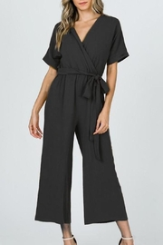 Ces Femme Black Dolman-Sleeve Jumpsuit - Product Mini Image