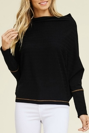 White Birch Black Dolman Top - Product Mini Image