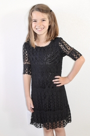 Resistol Black Dot Dress - Product Mini Image