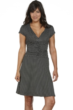 Zaän Black Dots Dress - Product List Image