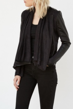 BlankNYC Black Drapey Jacket - Product List Image