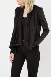 BlankNYC Black Drapey Jacket - Product Mini Image