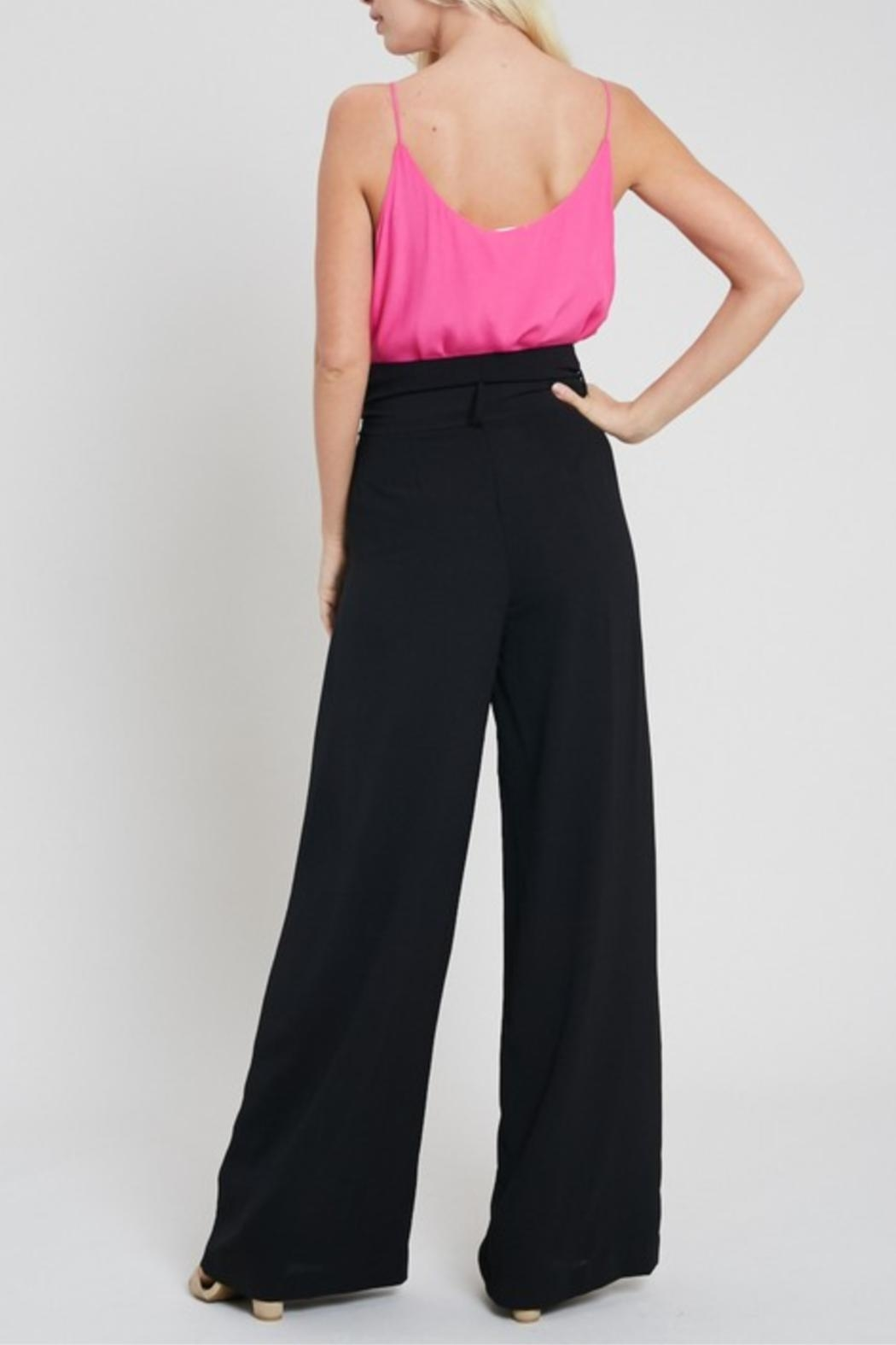 eesome Black Dress Pants - Side Cropped Image
