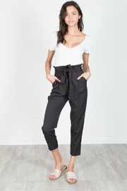 essue Black Dress Pants - Front cropped