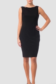 Joseph Ribkoff Black dress with embellished back detail - Product Mini Image