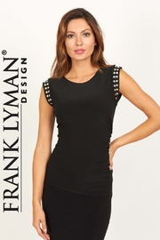 Frank Lyman Black dress with silver detaling - Product Mini Image