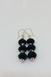 Laurent Léger Black Drop Earrings - Product Mini Image
