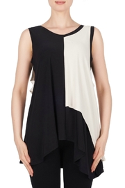 Joseph Ribkoff USA Inc. Black + Ecru Tank Tunic - Product Mini Image
