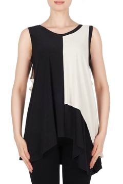 Shoptiques Product: Black + Ecru Tank Tunic