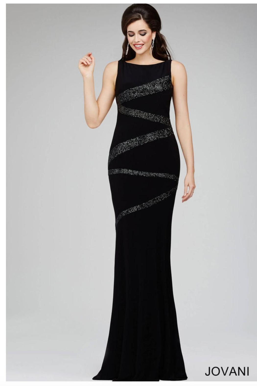 8d00dd2043a Jovani Black Evening Gown from Guilford by A s Unique Boutique ...