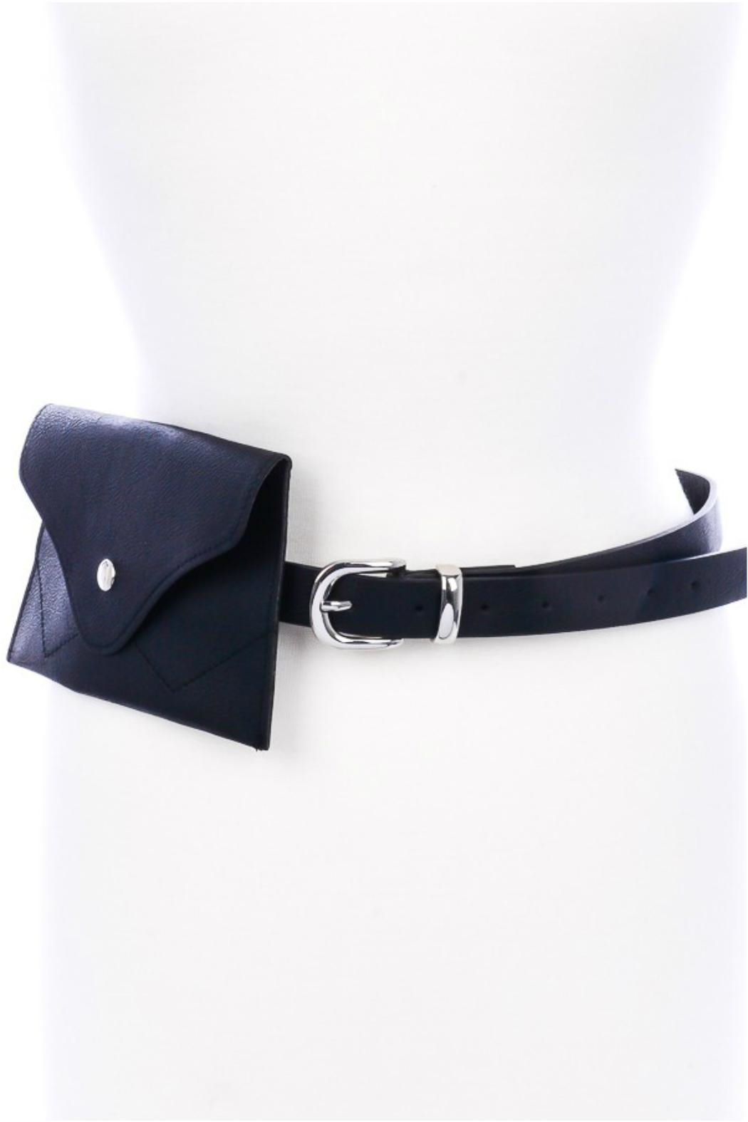 Minx Black Fanny Belt - Main Image