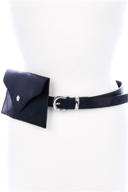 Minx Black Fanny Belt - Front cropped
