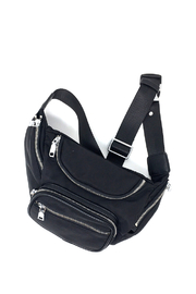 INZI Bags Black Fanny Pack - Front cropped