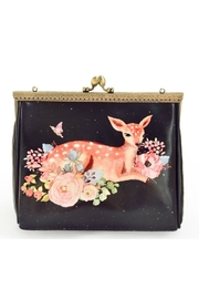 Frock Boutique Black Fawn Purse - Product Mini Image