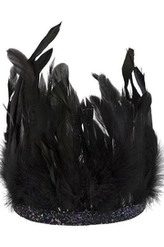 Meri Meri  Black Feather Headdress - Product Mini Image