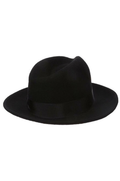 Olive & Pique Black Fedora - Alternate List Image