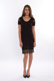 Pete Black Fitted Dress - Product Mini Image