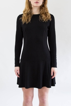 Veronica M Black Flare Dress - Product List Image