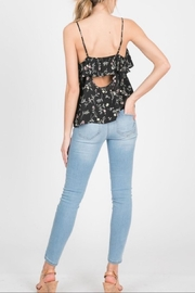 Paper Crane Black Floral Cami - Side cropped
