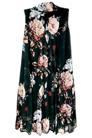 ANTONELLO SERIO Black Floral Dress - Product Mini Image