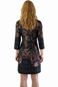 Isle Black Floral Dress - Alternate List Image