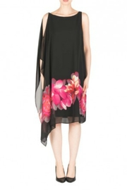 Joseph Ribkoff Black Floral Dress - Product Mini Image