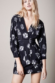 Smythe Black Floral Dress - Product Mini Image