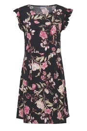 B.young Black Floral Dress - Product Mini Image