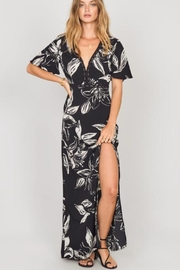 AMUSE SOCIETY Black Floral Maxi - Product Mini Image