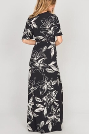 AMUSE SOCIETY Black Floral Maxi - Side cropped