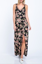 skylar madison Black Floral Maxi - Product Mini Image