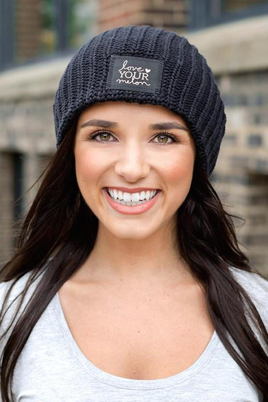 af2d7a6f35662 Love Your Melon Black Foil Beanie from New Jersey by Barefoot ...