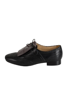 Shoptiques Product: Black Fringed Brogue