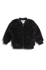Splendid Littles Black Fur Jacket - Product Mini Image