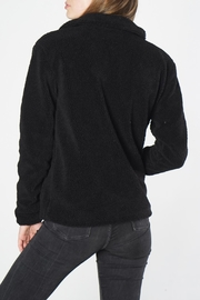 Mod Ref Black Fuzzy Jacket - Side cropped