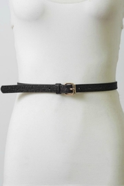 Leto Black Glitter Belt - Product Mini Image