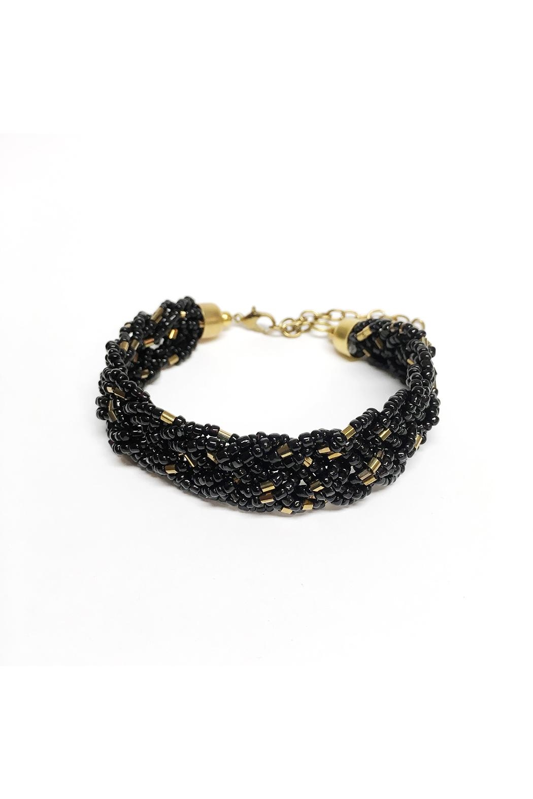 jewelry gallery metallic lyst for men gold silver product black normal diesel in bracelet beat