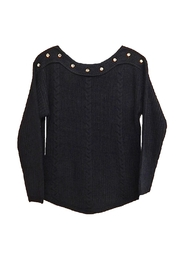 Vivid Black Gold Sweater - Product Mini Image