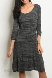 Renee C Black Gray Dress - Product Mini Image