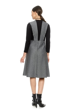 Modaliani Black & Gray Knit Dress - Alternate List Image