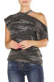 Elan Black grey camo - Front cropped