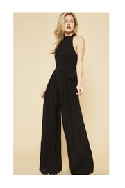 Polly & Esther Black Halter Jumpsuit - Product Mini Image