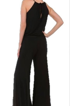 Vava by Joy Hahn Black Halter Jumpsuit - Alternate List Image